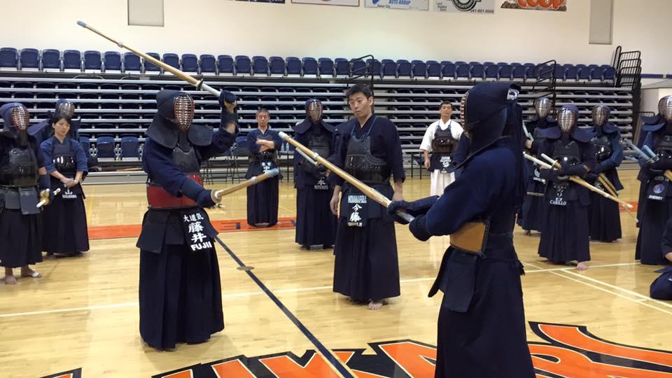 Nito Demonstration by Fujii Ryoichi sensei and Sato Futoshi sensei
