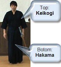 keikogi and hakama