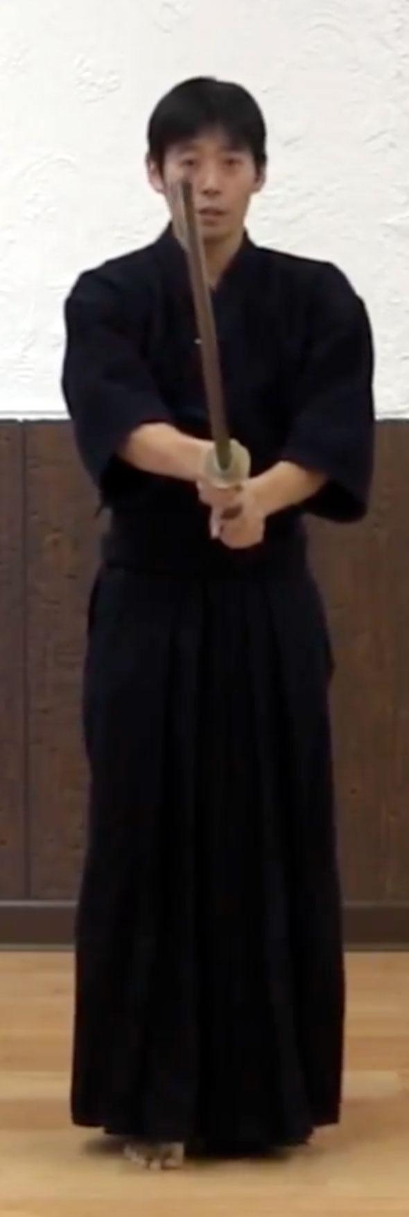 Kendo Kata No.5 Go honme Shitachi Hiraseigan