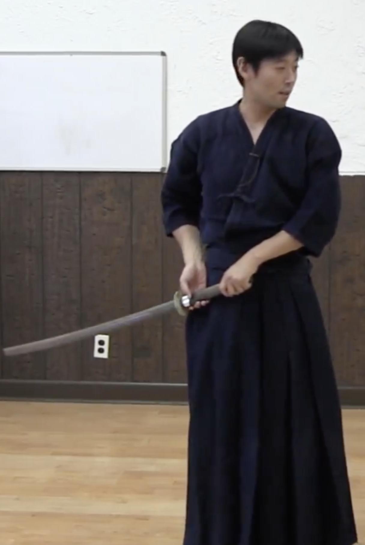 Kata No.4 Shitachi Migi-Wakigamae