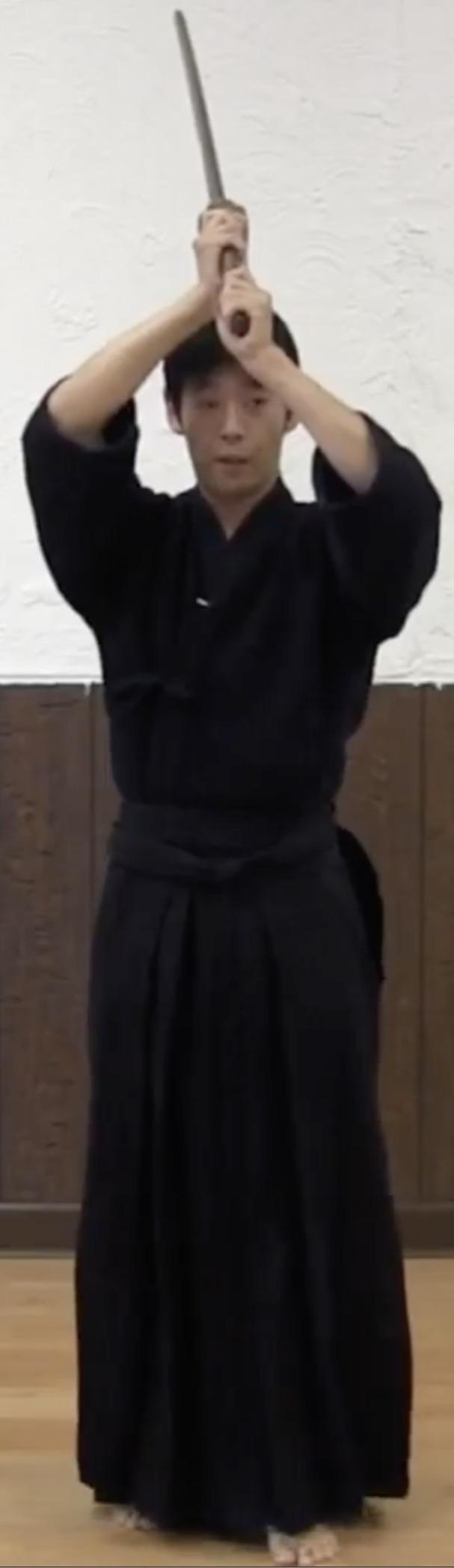 Kendo Kata No.5 Go honme Uchitachi Hidari Jodan