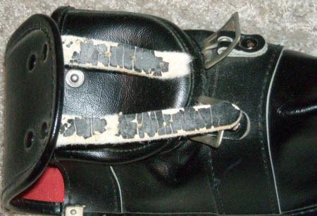 shinai bag,worn out,