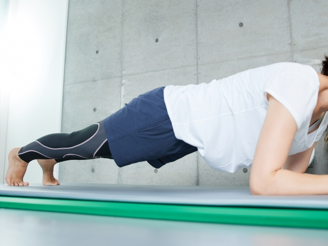build the core to have good posture