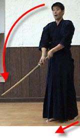 Zenshin Kotai Joge-buri Going Forward Cutting Down