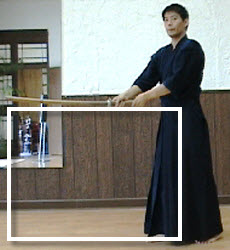 Kendo Kote Uchi Sword Height