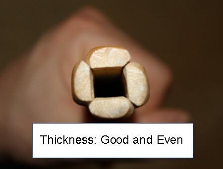 Nine Circle Shinai Thickness