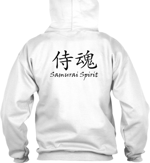 Samurai Spirit Light Hoodie