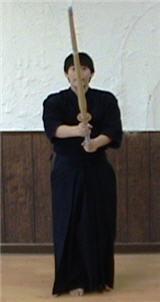 Taking Chudan: Holding the Sword