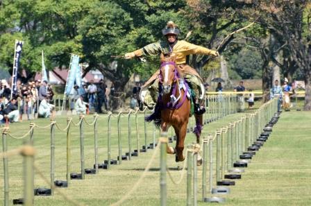 samurai history, yabusame